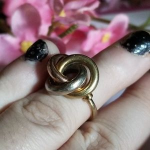 Vintage Jewelry - Rare❤14k Vintage Celtic Knot Ring